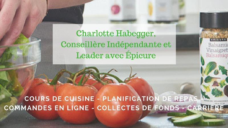 Charlotte Habegger, Independent Consultant and Leader with Epicure